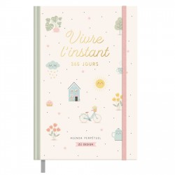 Agenda perpetuel - Sweet life