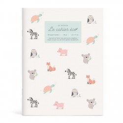 Eco notebook Animaux