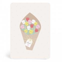 Carte bouquet