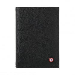 Victor wallet - Grainé noir