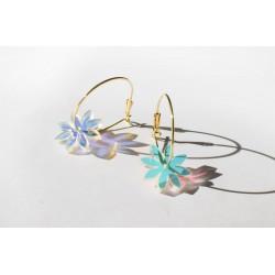 Creoles Fleur - Several colors