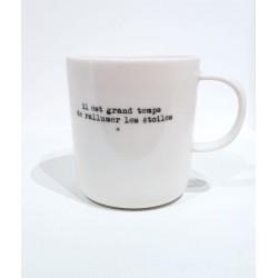 Mug - Il est grand temps de...