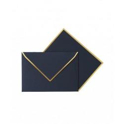 Enveloppe & carte navy