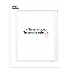 Postcard - Tu sens bon