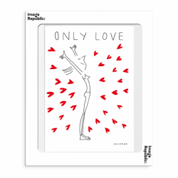Carte postale Only Love -...