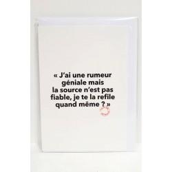 Postcard - La rumeur