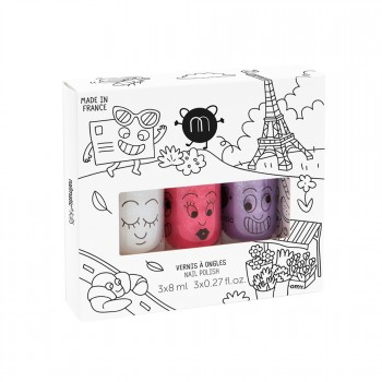 Coffret 3 vernis nailmatic...