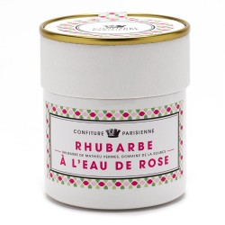 Jam Rhubarb with rose water