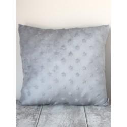 Coussin polaire gris