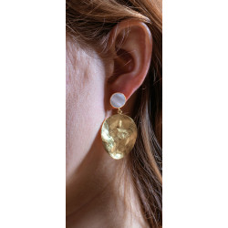 Dune earings XL