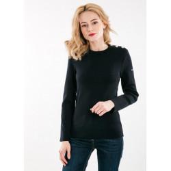 Women's Plain Navy Sweater...
