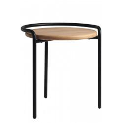 Wood & metal stool Le...