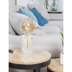 Lampe de table - Bois flotté