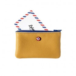 Upcycling wallet - Emile