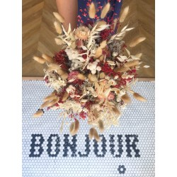 Bouquets of dried flowers