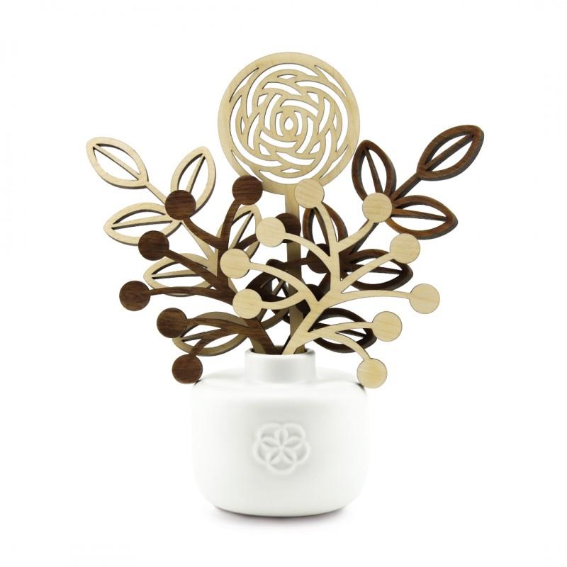 Fragrance diffuser 5 senses - White