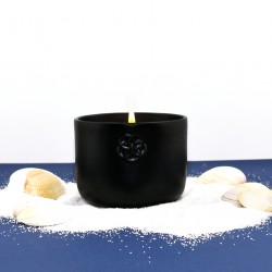 5 senses scented candle - Black