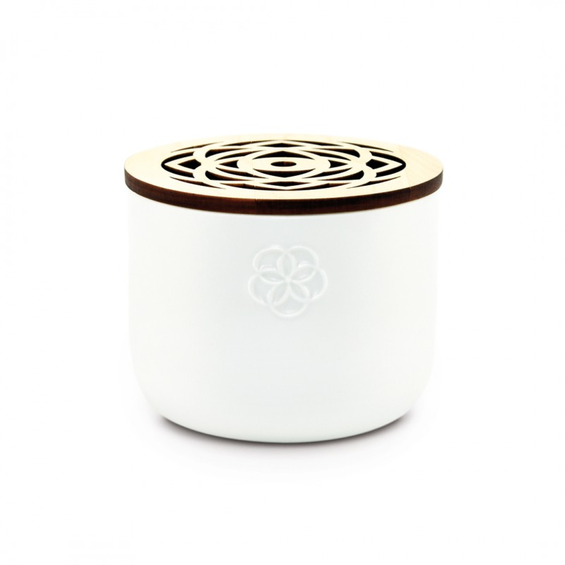 Scented candle 5 sens - White