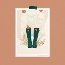 Poster A4 - Gardening