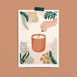 Poster A4 - Candle