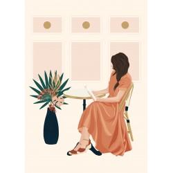 Poster A4 - Tea room