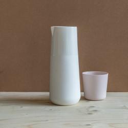 Porcelain carafe