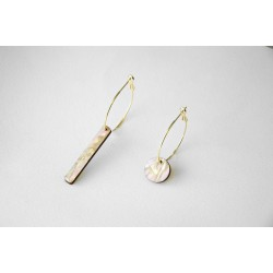 Mix earrings - White or...