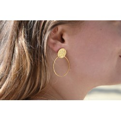 Palace earrings and ring