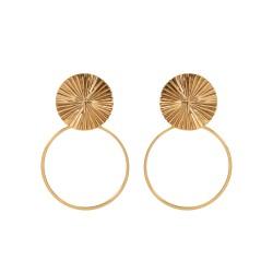 Horizon earrings and ring
