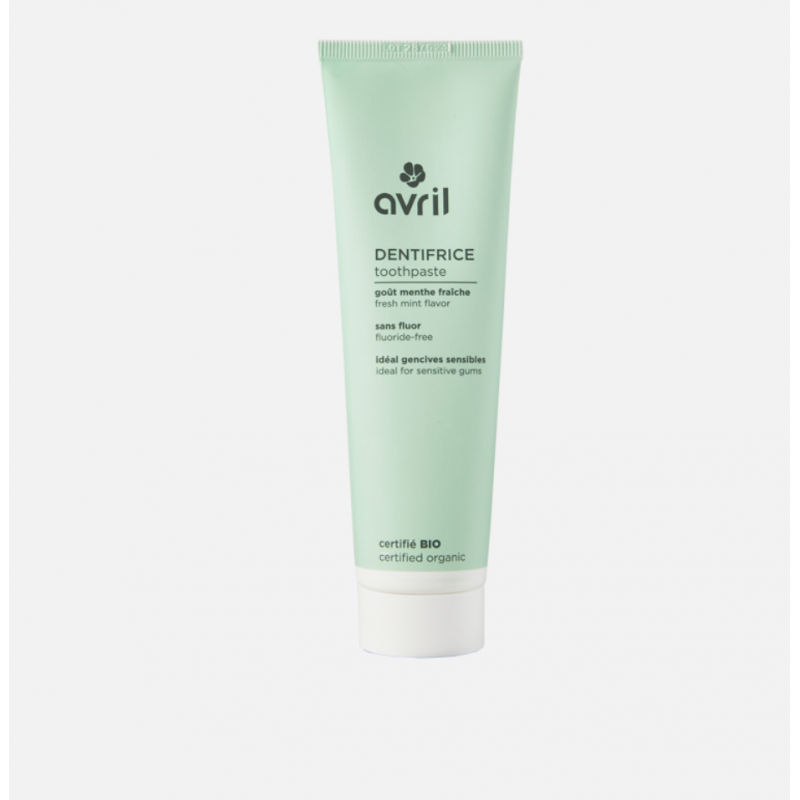 Organic toothpaste - Fresh mint without fluorine