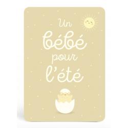 Birth card - Spring,...