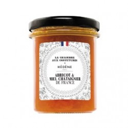Apricot jam with chestnut...