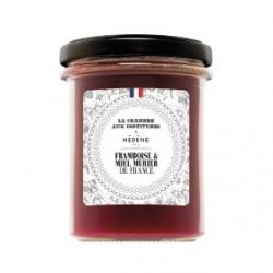 Raspberry jam with mulberry...