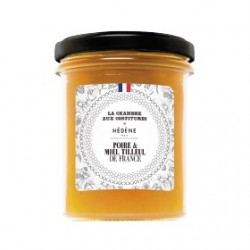 Pear jam with lime blossom...