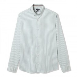 Striped shirt - cotton/linen