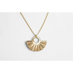 Glow Necklace - Golden Bamboo