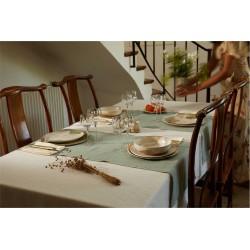 Opposite of linen tables