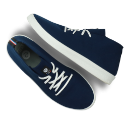 Blizzard eco-recycled neakers - Navy