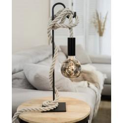 Portable lamp XXL - linen cord