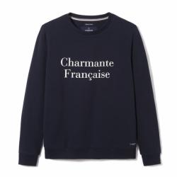 Sweat Charmante Française