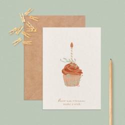"""Carte postale """"Happy birthday"""""""
