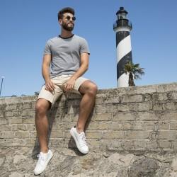 Carlo cotton shorts - 3 coloris