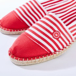Espadrille in cotton canvas - Red