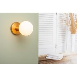 Bronze wall lamp -...