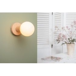 Wooden wall lamp -...