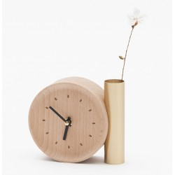 Horloge Tik Tok en bois massif