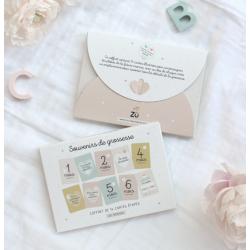 Milestone Cards - Pregnancy...