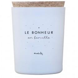 """Bougie """"Le bonheur en famille"""""""