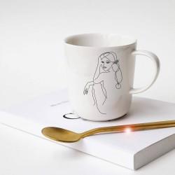 Mugs en porcelaine -...