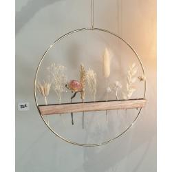 Cercle fleuri